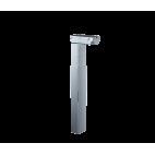 Подъемная колонна на 80 кг, 35 мм/сек, длина хода 650 мм, три секции, прямоугольное сечение 95x65 мм