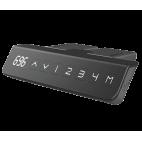 Панель управления с индикацией текущего положения и памятью на 4 позиции + USB порт для зарядки устройств